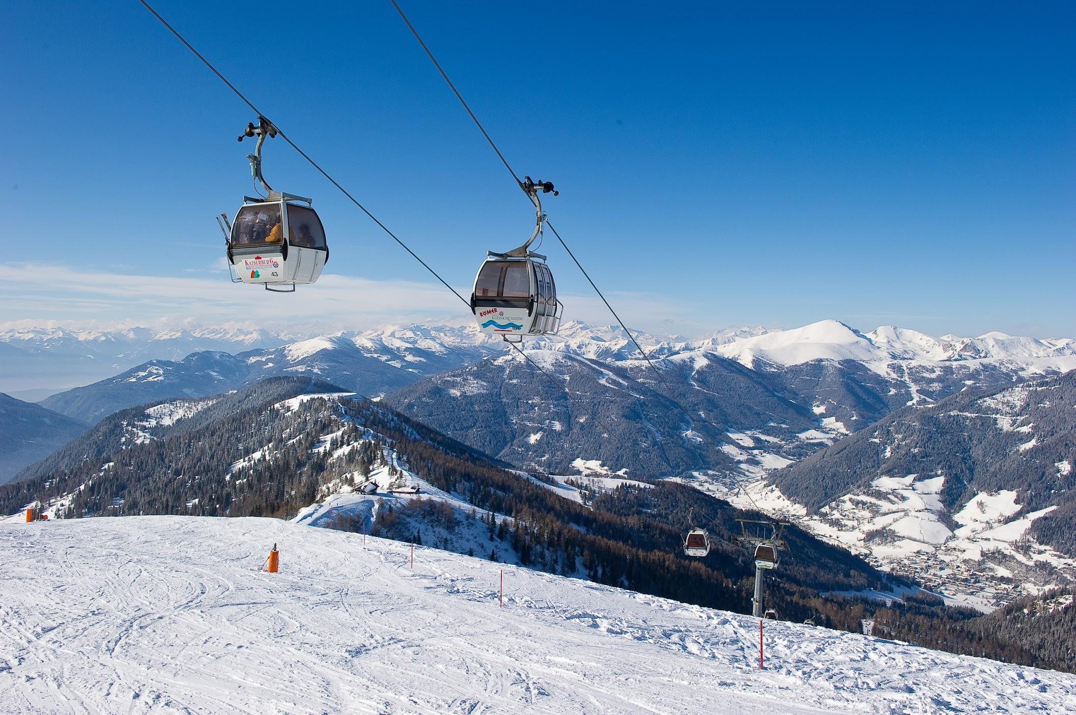 Skigebiet Bad Kleinkirchheim / St. Oswald