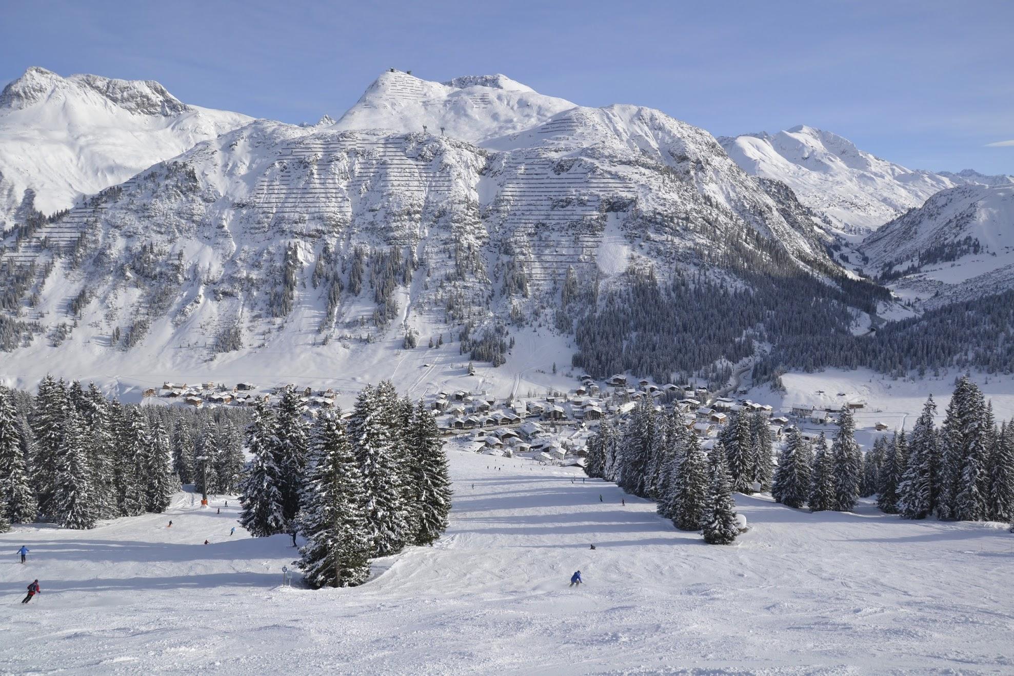 Skigebiet Arlberg St. Anton-Lech-Zürs