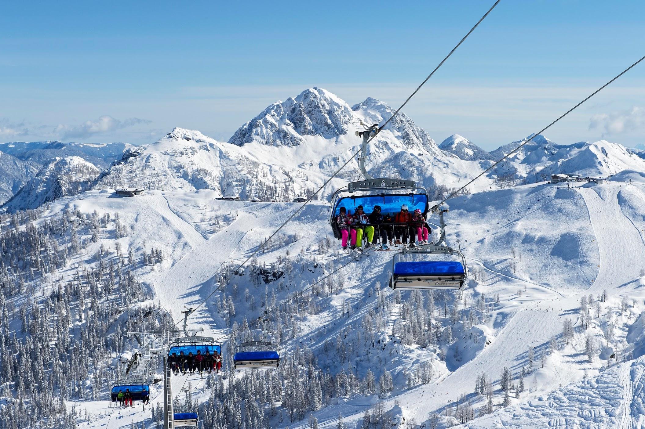 Skigebiet Nassfeld-Pressegger See