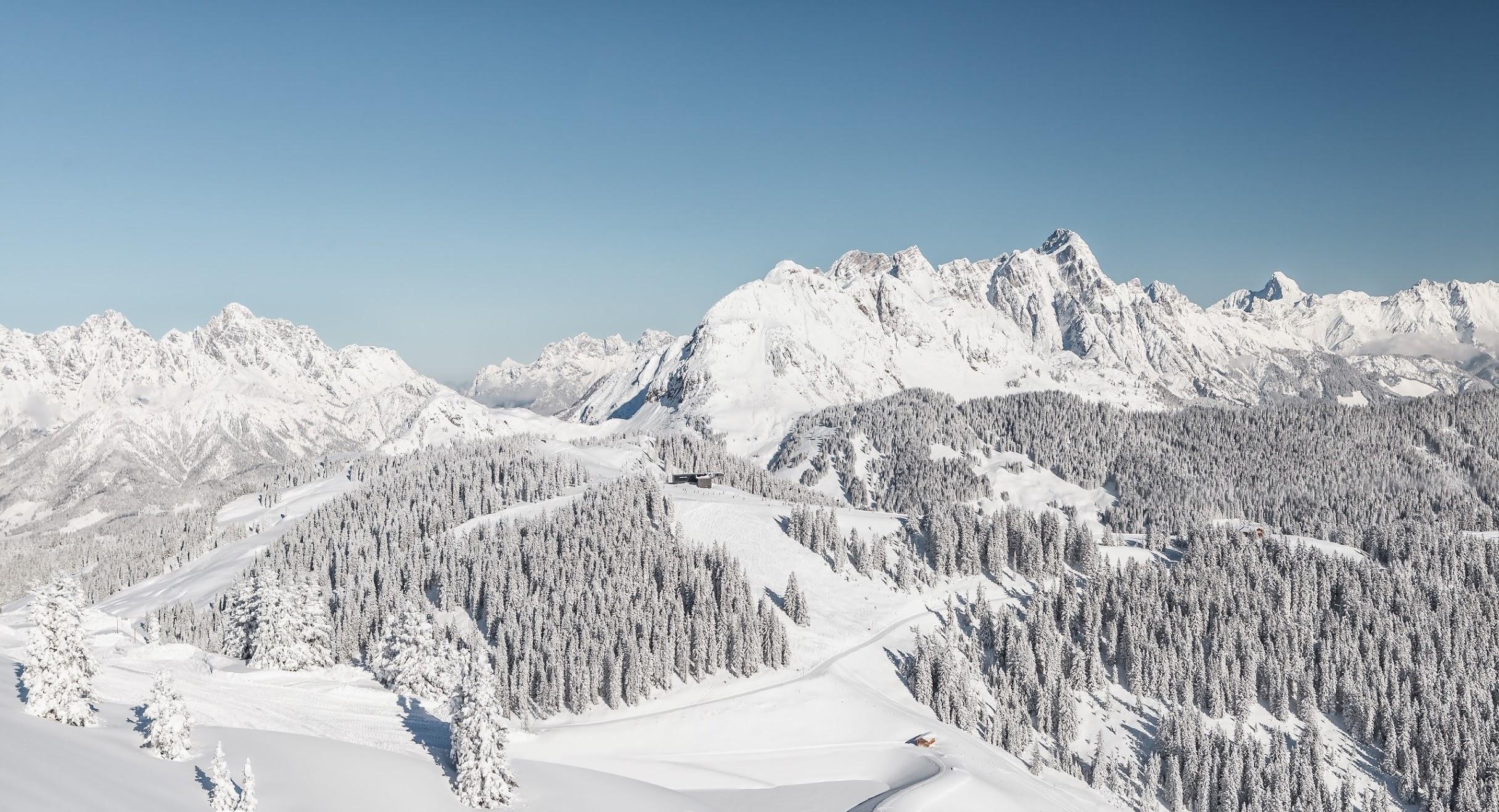 Skigebiet Saalbach Hinterglemm Leogang