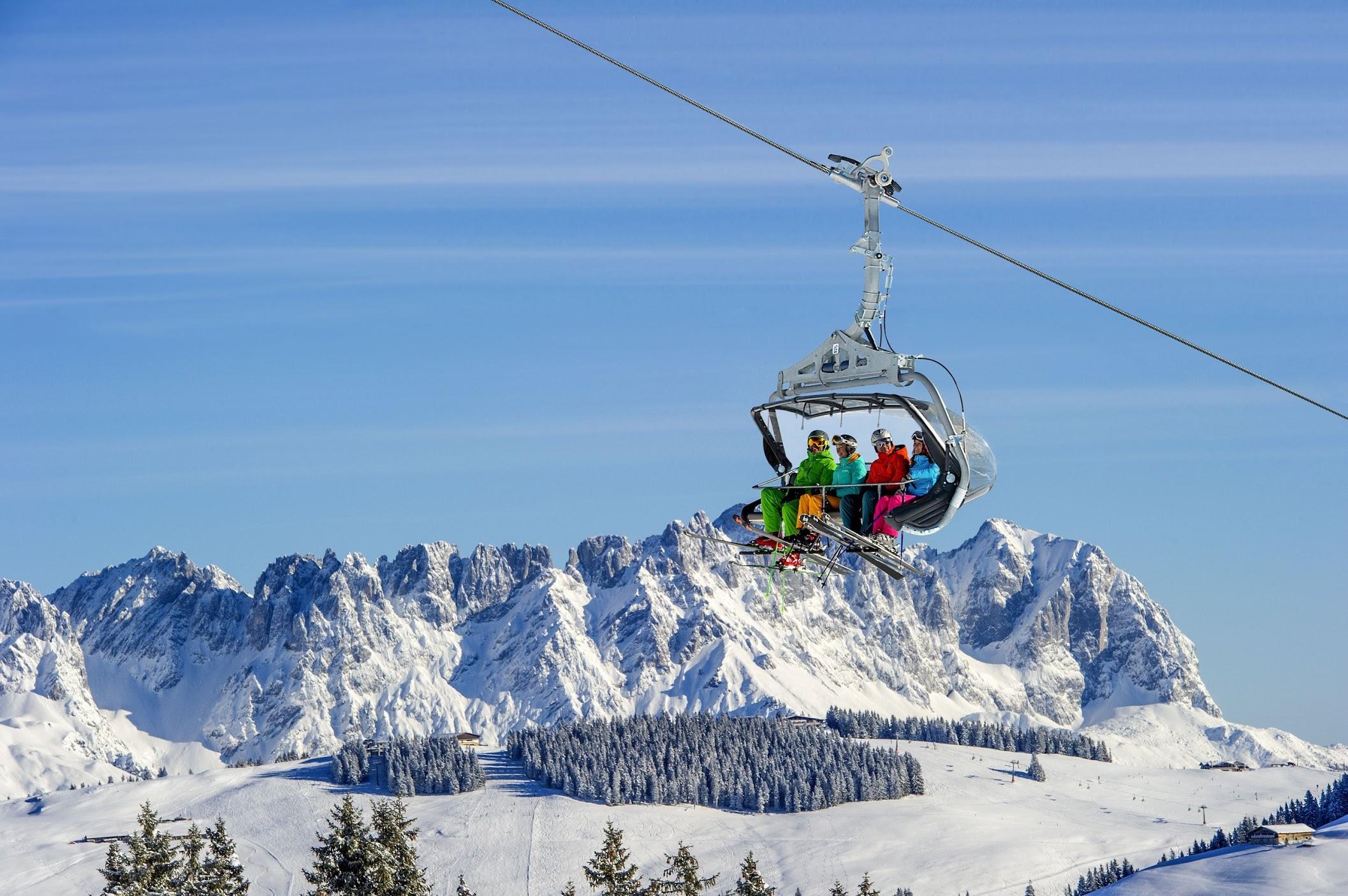 Skigebiet SkiWelt Wilder Kaiser-Brixental