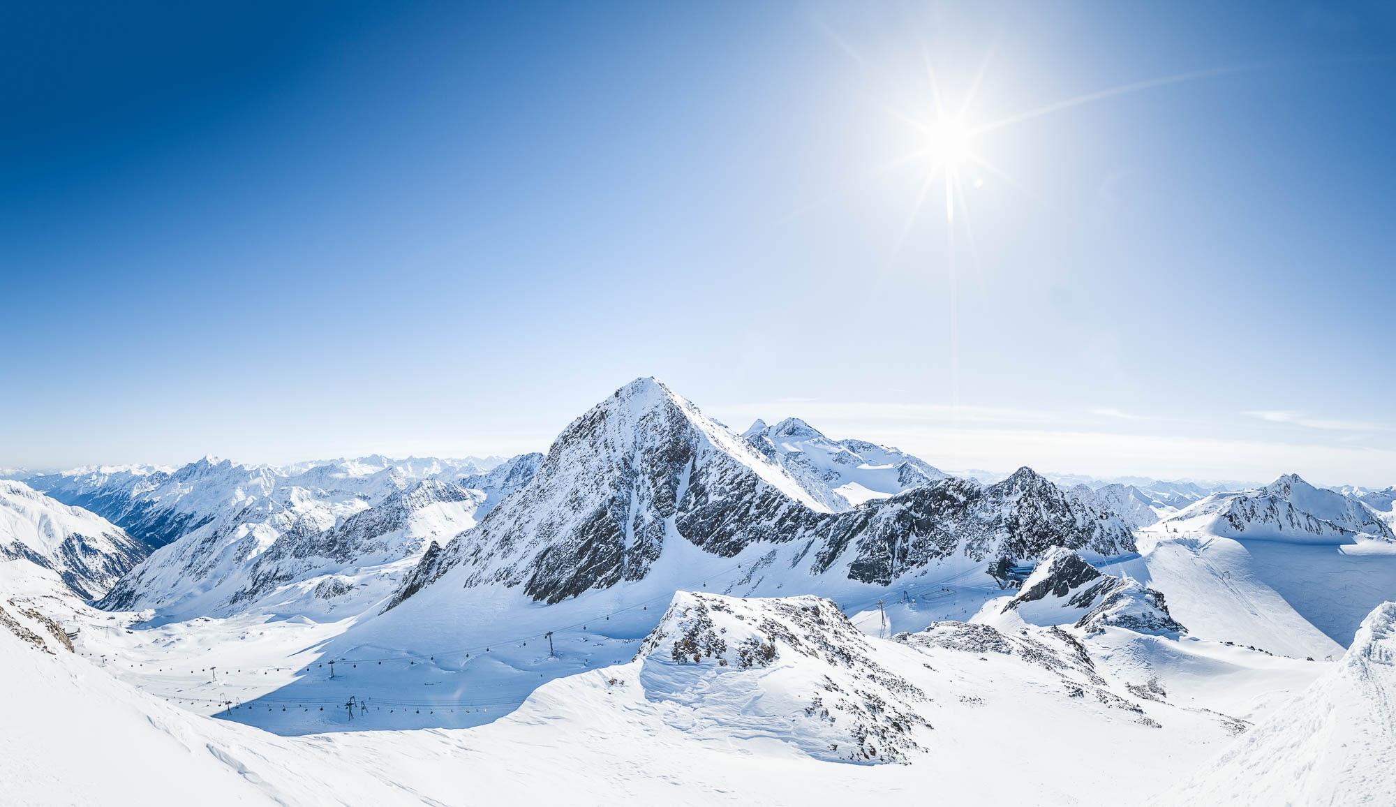 Горнолыжный курорт Штубайский ледник
